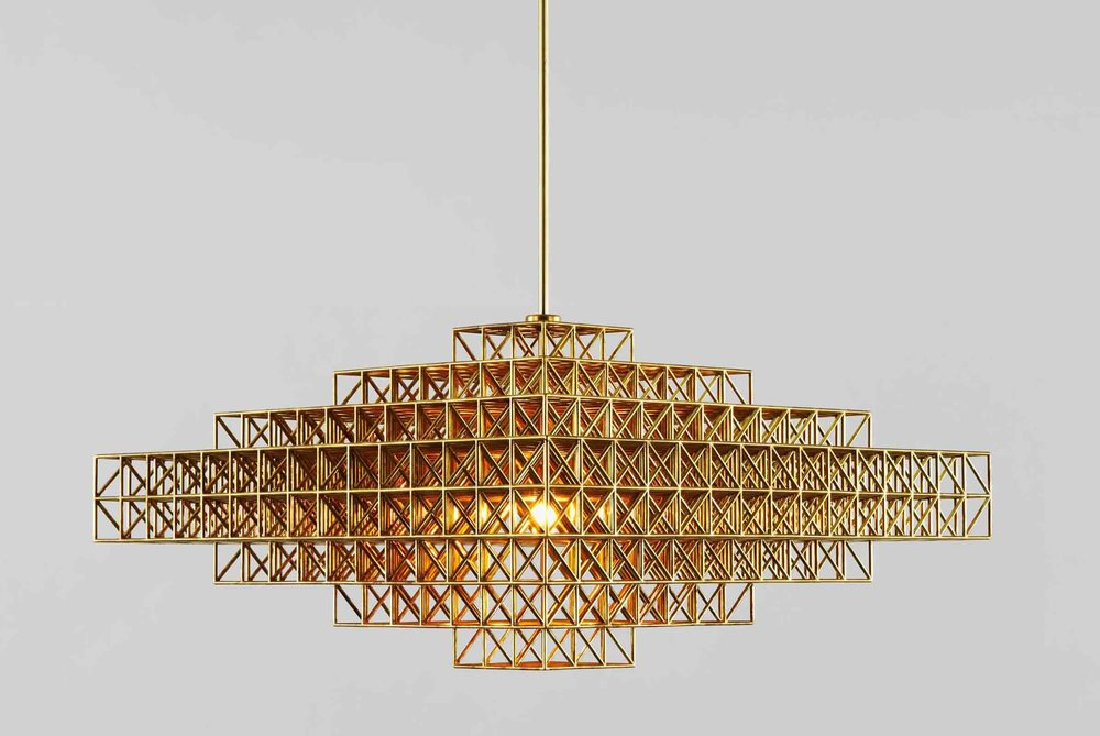 'Gridlock' pendant from Roll & Hill