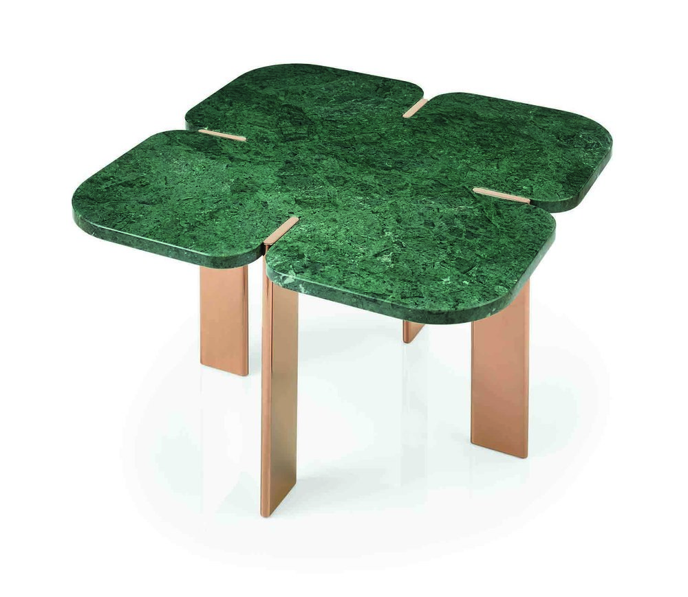 'Fenda' square table from Riluc