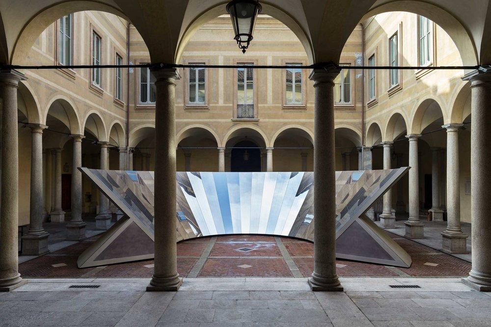 COS  x Philip K Smith III @ Palazzo Isimbardi
