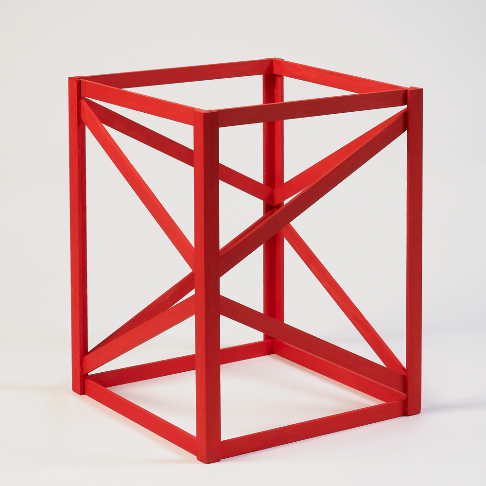 - Rasheed AraeenMulti Red1968/2018Acrylic on wood30.6 x 23 x 23 cmEdition 4 out of 50Generously donated by the artist and Rossi & Rossi