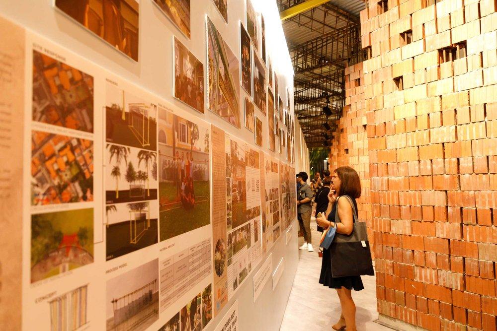 Archifest Pavilion, Exhibition