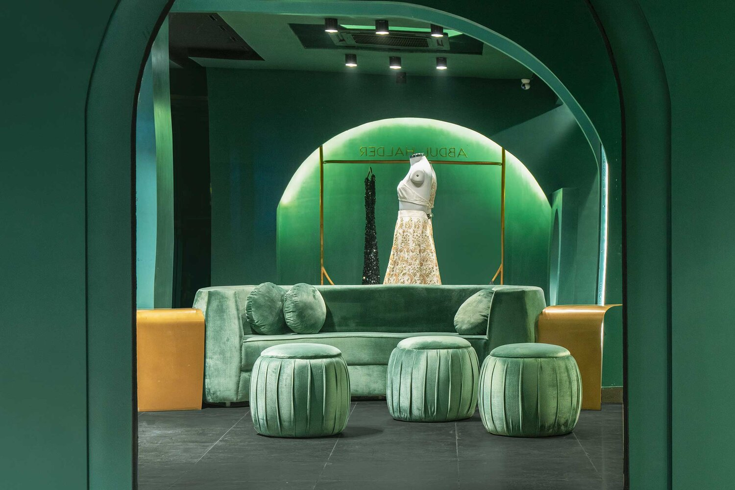 Pantone Collective Designs Abdul Halder Flagship Store Design Anthology