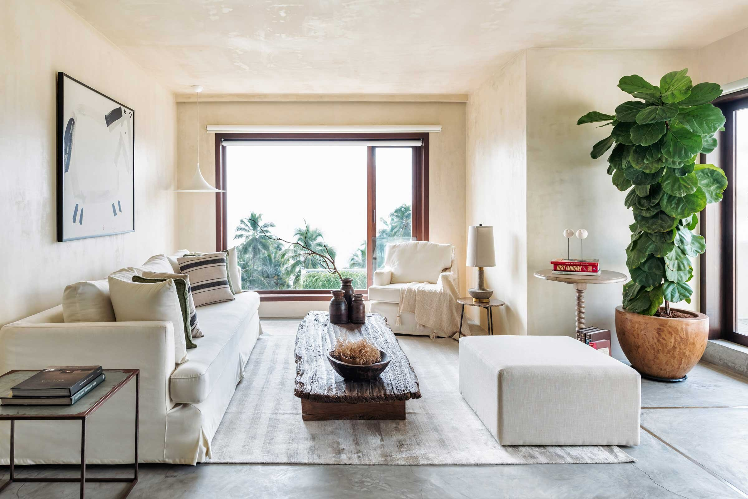 A Seaside Apartment Inspired By Wabi Sabi Design Anthology