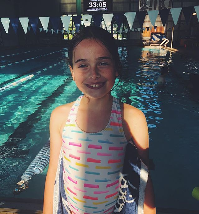Freestyle✔️ breaststroke ✔️ BUTTERFLY?!! ✔️✔️✔️ this little swimmer has been working HARD!!