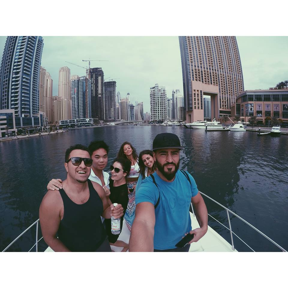 on a yacht carla maria bruno dubai yacht party marina jlt jbr boat travel influencer travel blogger travel vlogger lifestyle influencer lifestyle blogger lifestyle vlogger fashion travel tips tourism.jpg
