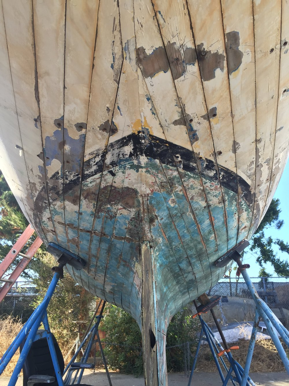 Berkeley California Boat Restoration