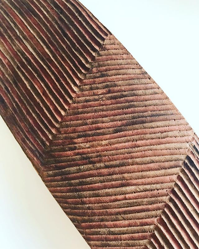Lost in the lines... ❤️ . 20th Century Wunda Shield, Western Australia, 89cm (detail).