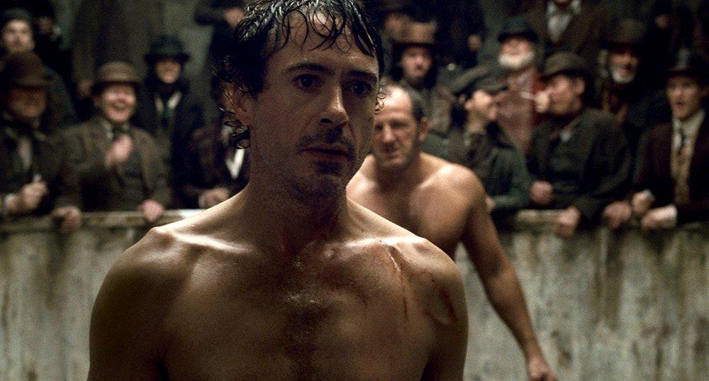 SHERLOCK HOLMES - 2009   Opening Fight Scene