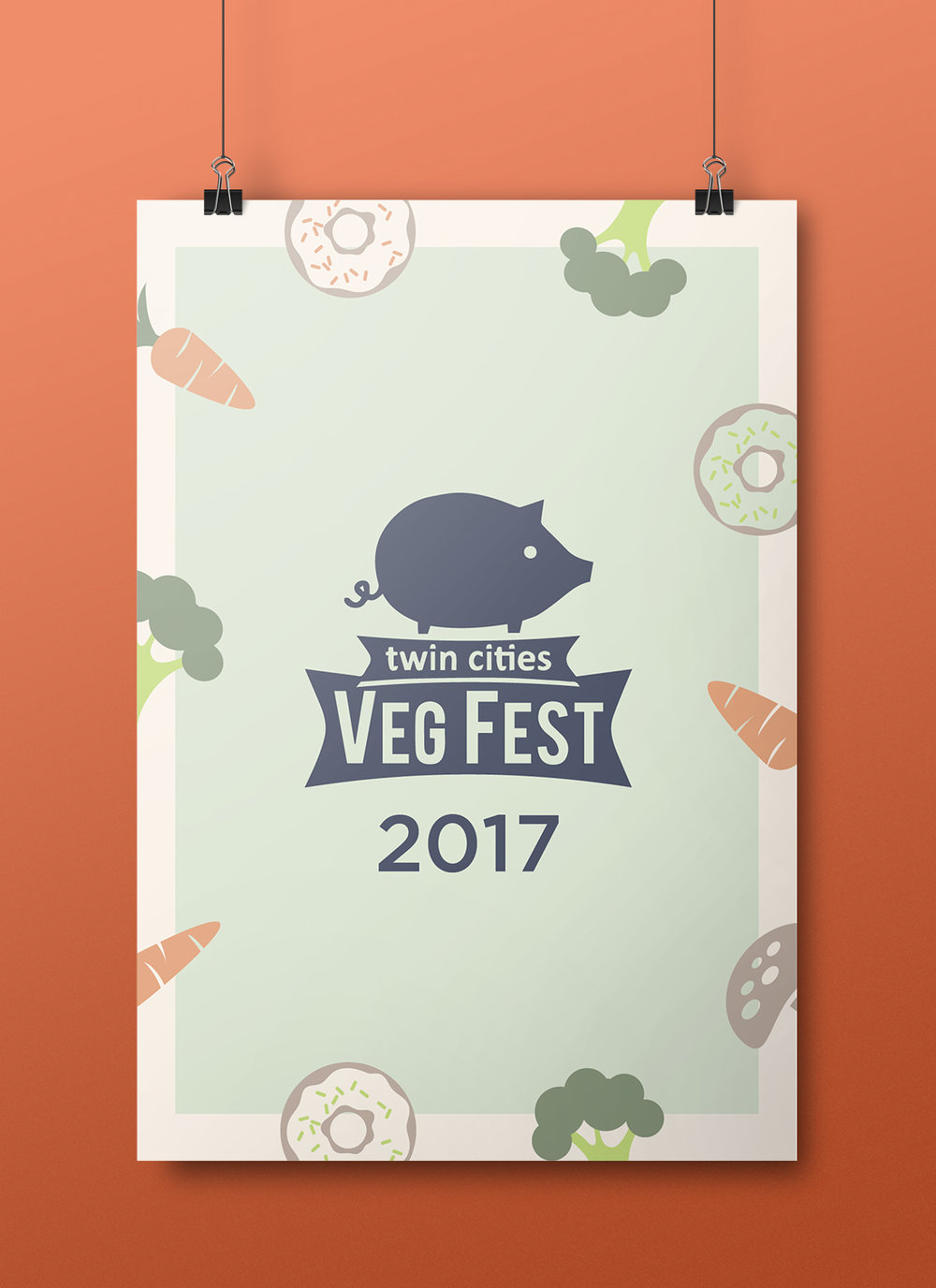 For  Twin Cities Veg Fest .
