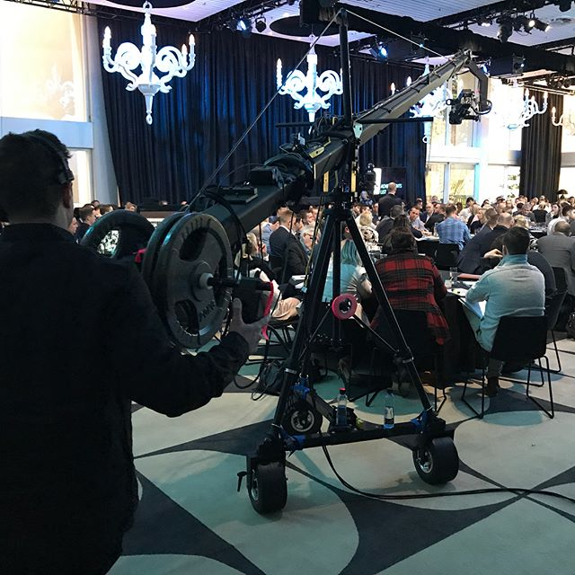 Another technically-challenging Josh Phegan Blue Print event with our friends at Endframe. Yes, believe it or not, that REALLY is a 15ft camera jib in The Ivy ballroom! #blueprint8