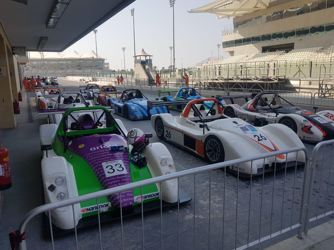 GULF RADICAL CUP - ROUND 2 - YAS MARINA GP CIRCUIT — Gulf Radical Cup