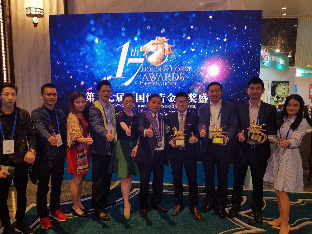 22/03/2017 - 集團於第17屆中國飯店金馬獎頒獎典禮獲得多個宴會獎項