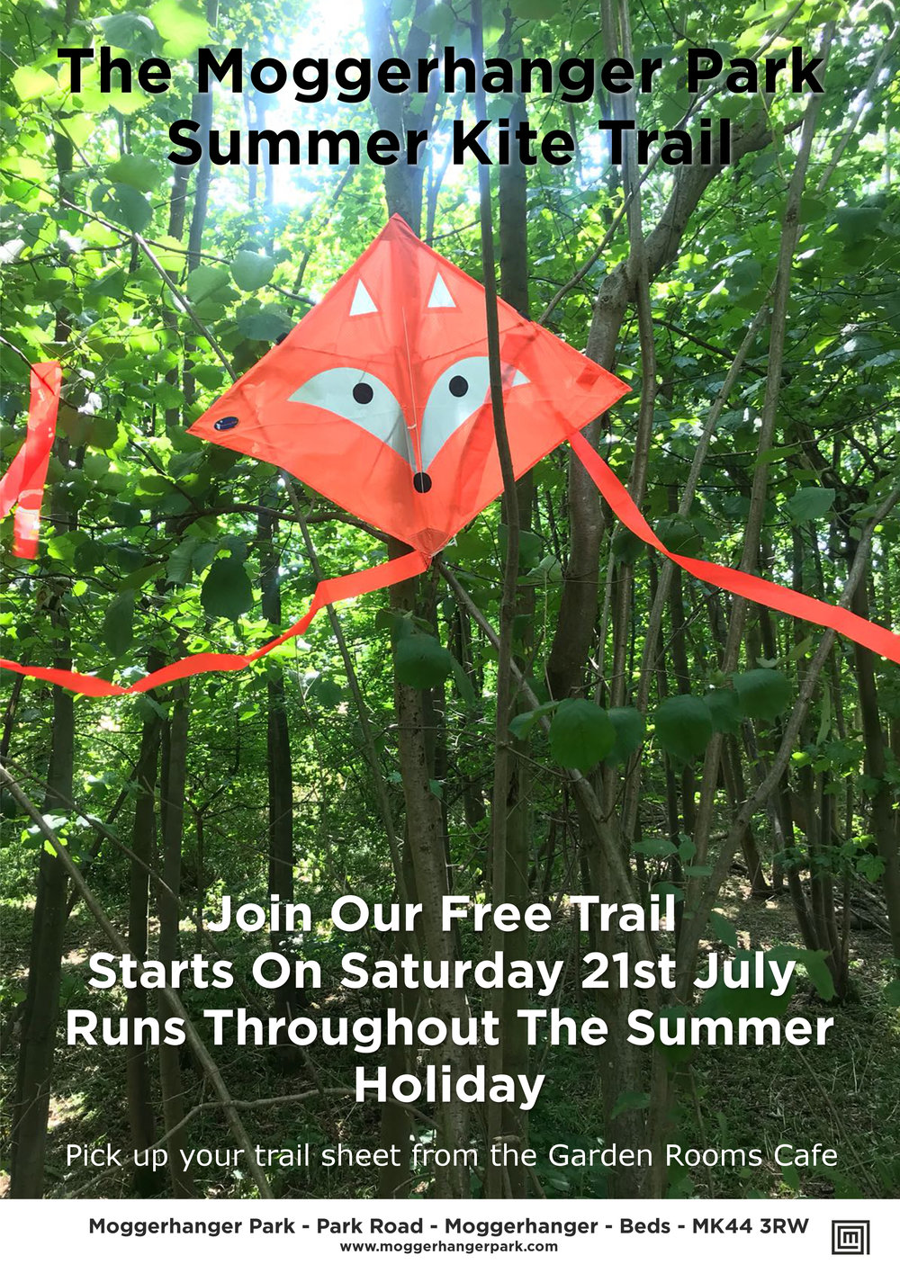 Why not combine your session with our Free Kite Trail which runs throughout the Summer Holiday -