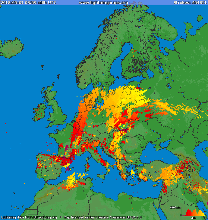 donegal weather channel april goes out with a bang across europe