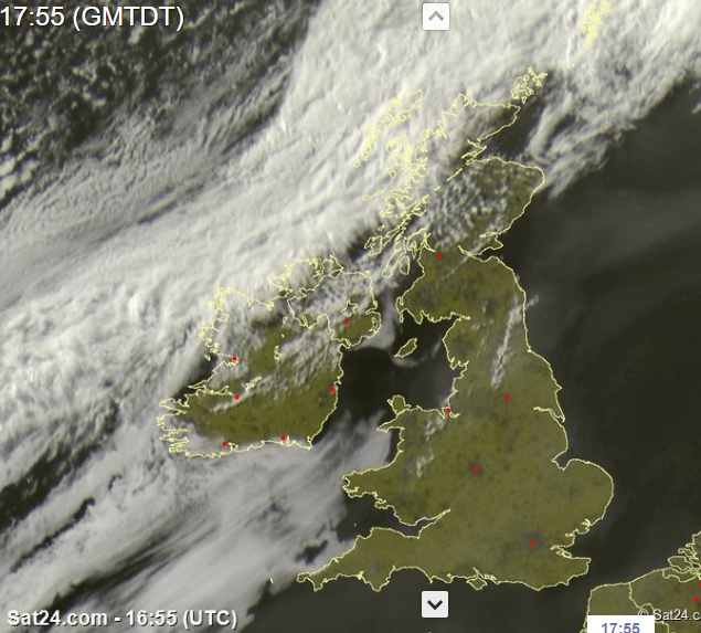 Latest Satellite image from Sat 24