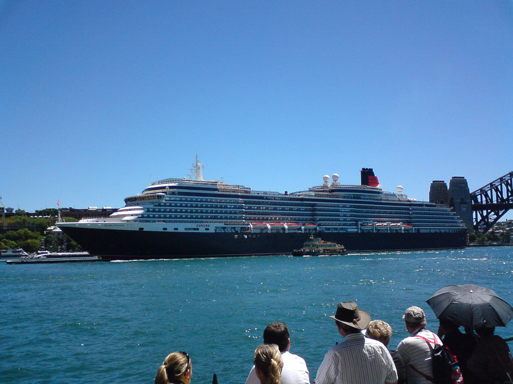 Queen Victoria at Circular Quay, Sydney