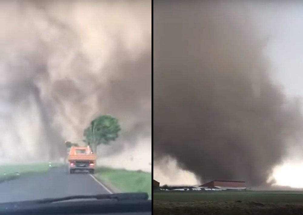 Tornado in Germany today has injured 3 people