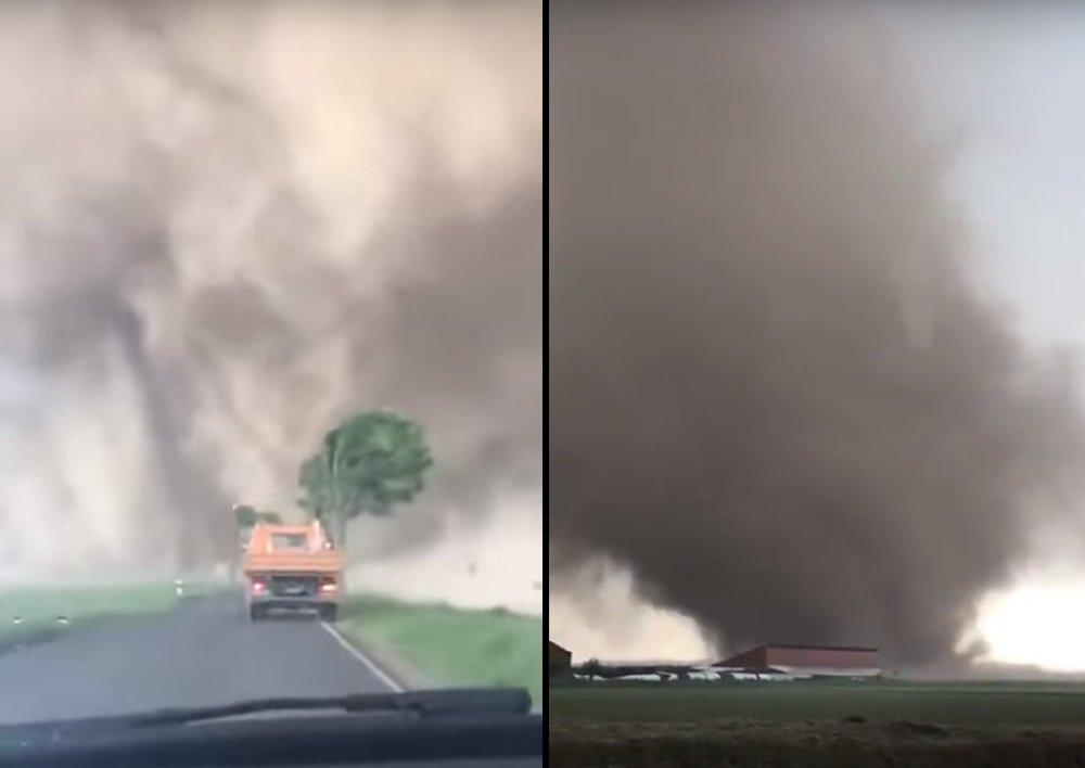 Tornado in Germany today has injured 3 people