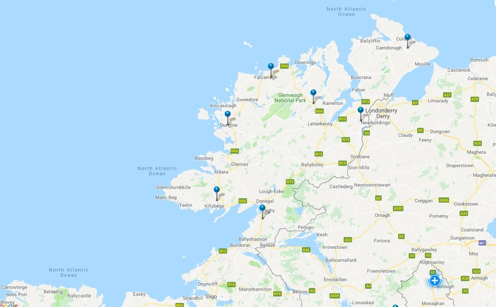 Power cuts in Donegal this morning