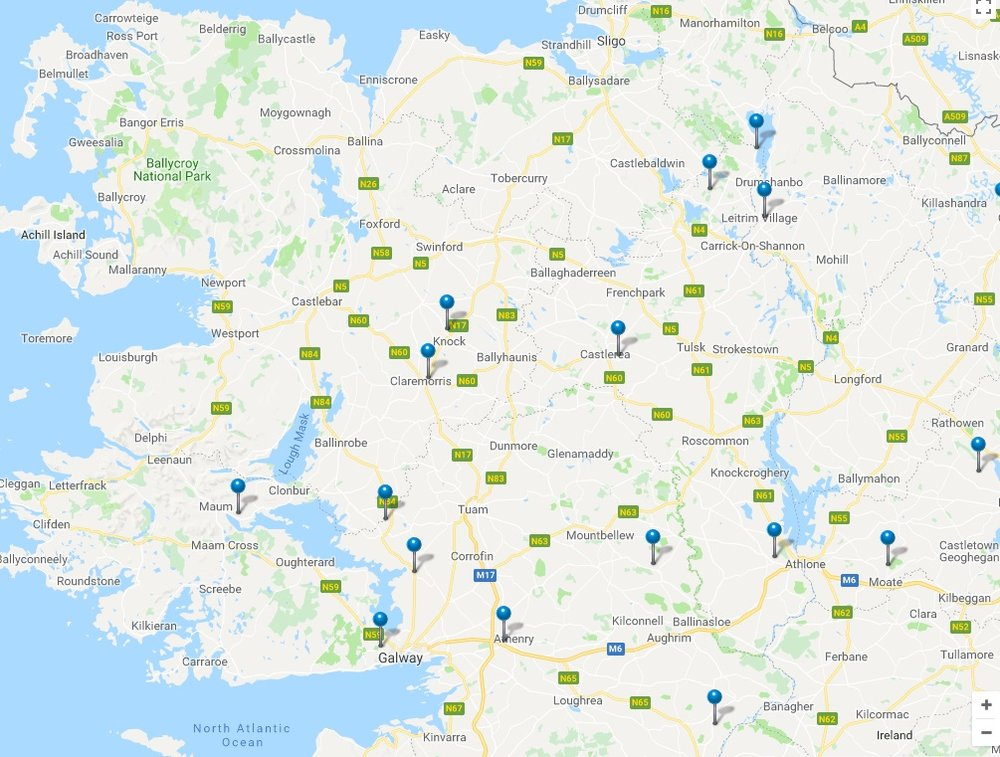 Power cuts in the west of ireland this morning this morning