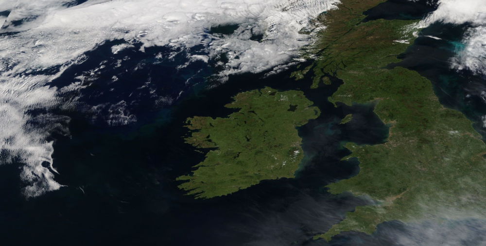 Modis Satellite on the 24th of June