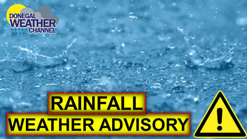 WEATHER ADVISORY FOR HEAVY RAINFALL IN PLACE