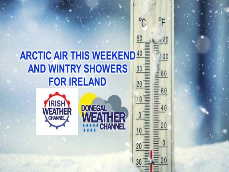COLD WEEKEND AHEAD AS ARCTIC AIR ARRIVES FRIDAY AND LASTS OVER THE WEEKEND