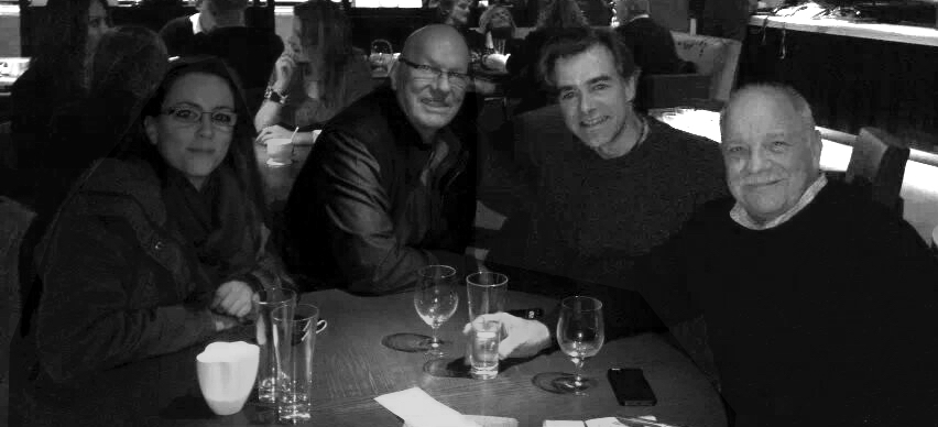 With Paul Schrader, DoP Chris Seager and Script Supervisor Anwen Bull