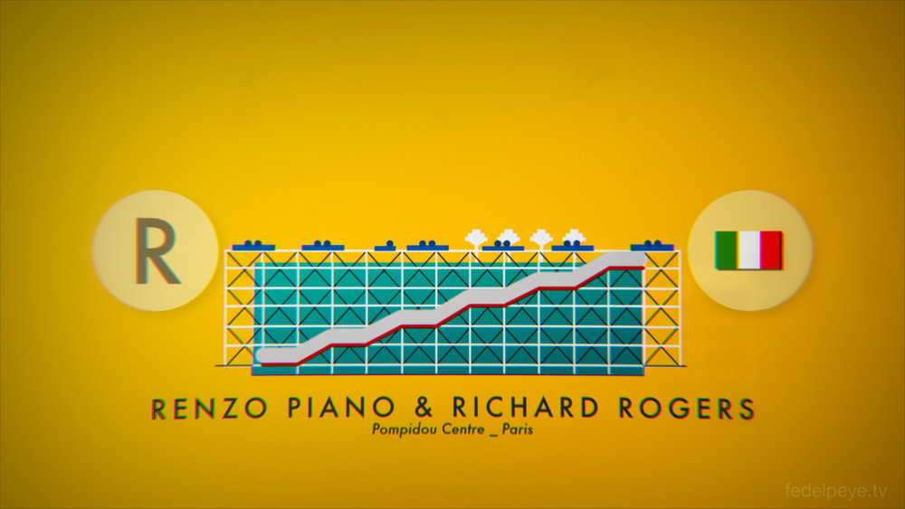 Renzo Piano & Richard Rogers