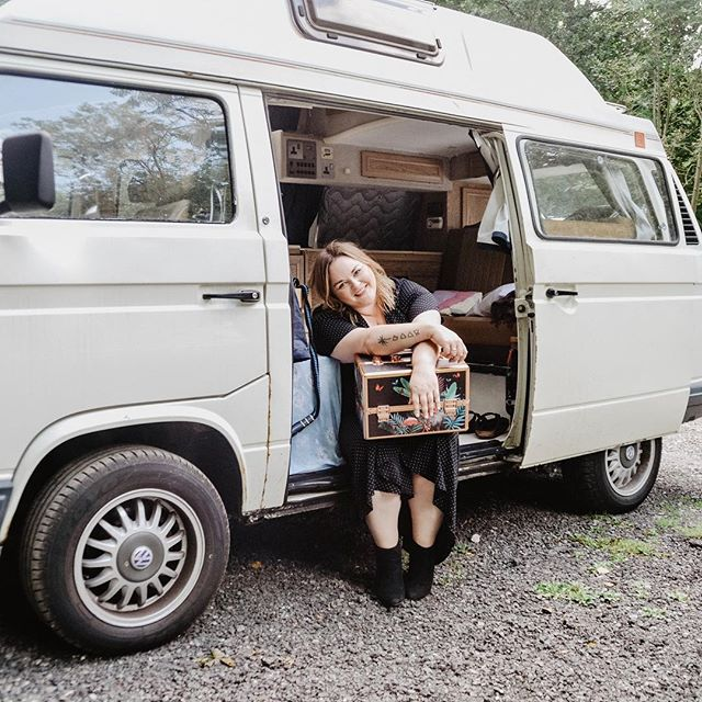 That's a wrap folks! After my last UK wedding on Saturday and final styled photo shoot today with @cassandra_juneevents I am beginning my @thehappylands journey around Europe in my 1990s VWT25 🚐 and wee dog 🐶. I'm going to be a little quiet on this account while I concentrate on my adventure so check out @thehappylands for envy-inducing travel shots. Don't you worry though, I'm taking my #crueltyfree kit with me for destination weddings and planning many creative creations! 🚐💨🌍 * * * * * * * * * #crueltyfreemakeup #crueltyfreebeauty #crueltyfreecosmetics #crueltyfreeliving #crueltyfreemakeupartist #ethicalstyle #ethicalbeauty #destinationwedding #destinationweddings #destinationmakeupartist #elopementwedding #elopementmakeup #travellingmakeupartist #weddingmakeupartist #bridalmakeup #bridalmakeupartist #vwt25 #vwt25club #womenontheroad #solofemaletraveler #bohowedding #weddinginspiration #europewedding #europeanwedding #weddingmakeup #weddingideas #ethicalwedding #wanderlust