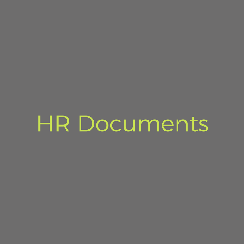 A comprehensive suite of documents ensuring HR best practice and guidance. - READ MORE >
