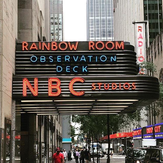 We're here!! Tune in to @nbc at 9AM