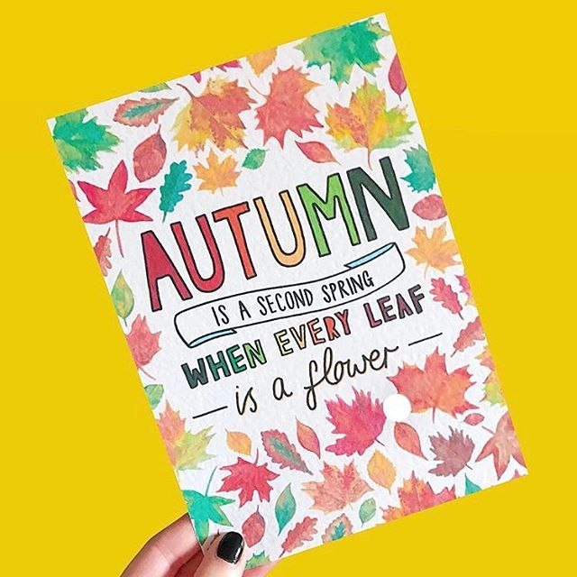 How lovely is this print by @ipdipdesign!? I'm a summer girl but this makes me see autumn in a more positive light 🍂🍁 ⠀⠀⠀ ⠀ ⠀⠀⠀ ⠀ ⠀⠀⠀ ⠀ ⠀⠀⠀ ⠀ ⠀⠀⠀ ⠀ ⠀⠀⠀ ⠀ ⠀⠀⠀ ⠀ ⠀⠀⠀ ⠀ ⠀⠀⠀ ⠀ ⠀⠀⠀ ⠀ ⠀⠀⠀ ⠀ #autumn #fall #artist #ipdipdesign #inspiringquote #girlboss #abmlifeiscolorful #girlsdoingcoolthings #yellow #colourfulart #mondaymotivation #maker #smallbizuk #creativeentrepreneur #thenativecreative #communityovercompetition #onegirlband #savvybusinessowner #beingboss #mycreativebiz #womenwhohustle #womeninbusiness #creativelifehappylife #femalepreneur #september #uksmallbiz