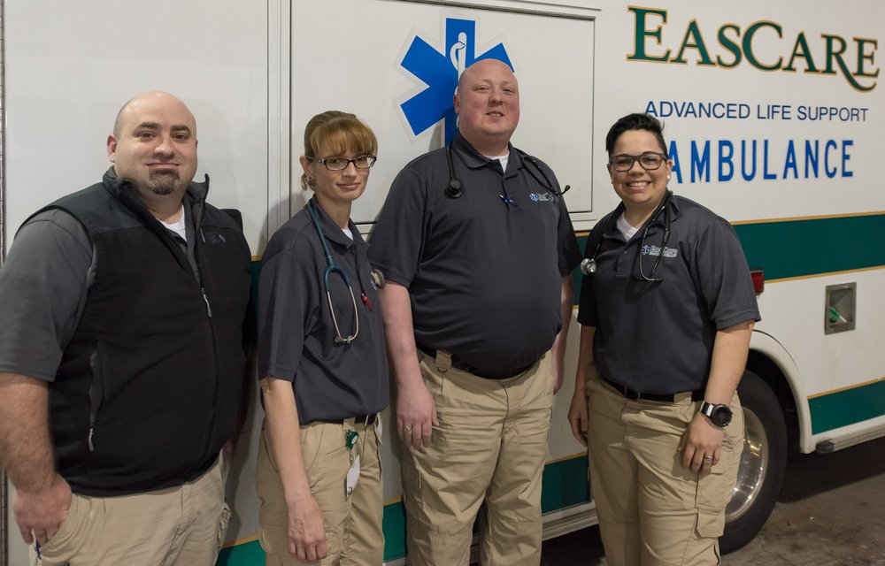 The EasCare Mobile Integrated Health team