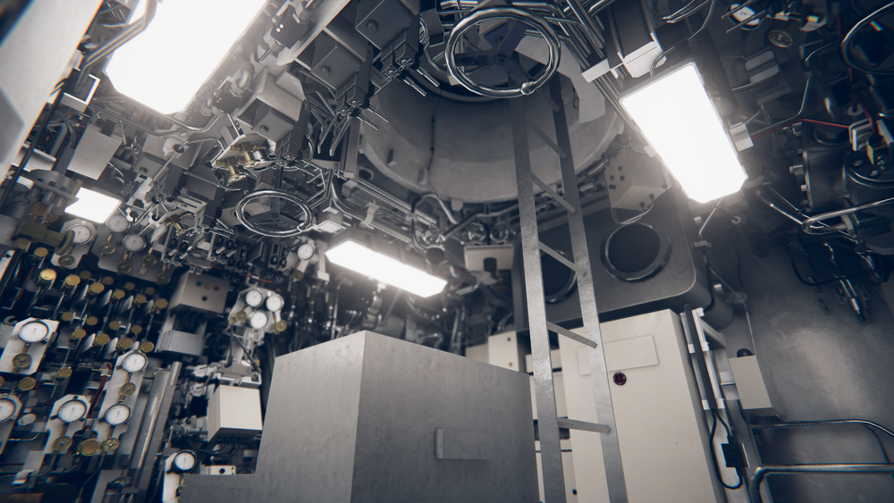 Simulateur 3d ship inside