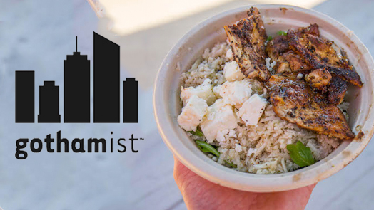 "Your Summer Guide To Riis Park Beach Food 2018   JUN. 1, 2018  - ""...In fact, the single best thing I've eaten over two weeks of beach feasting was here, a Cauliflower Rice Bowl from local outfit Cuisine by Claudette. Called the ""Jessicauli,"" it's a hefty container of cauliflower rice (which is just cauliflower, but in rice-sized bits), chunks of roasted lemon chicken, toasted chickpeas, a generous helping of feta, and a sweet vinaigrette. This is light, lively, and delicious.""  Read more..."