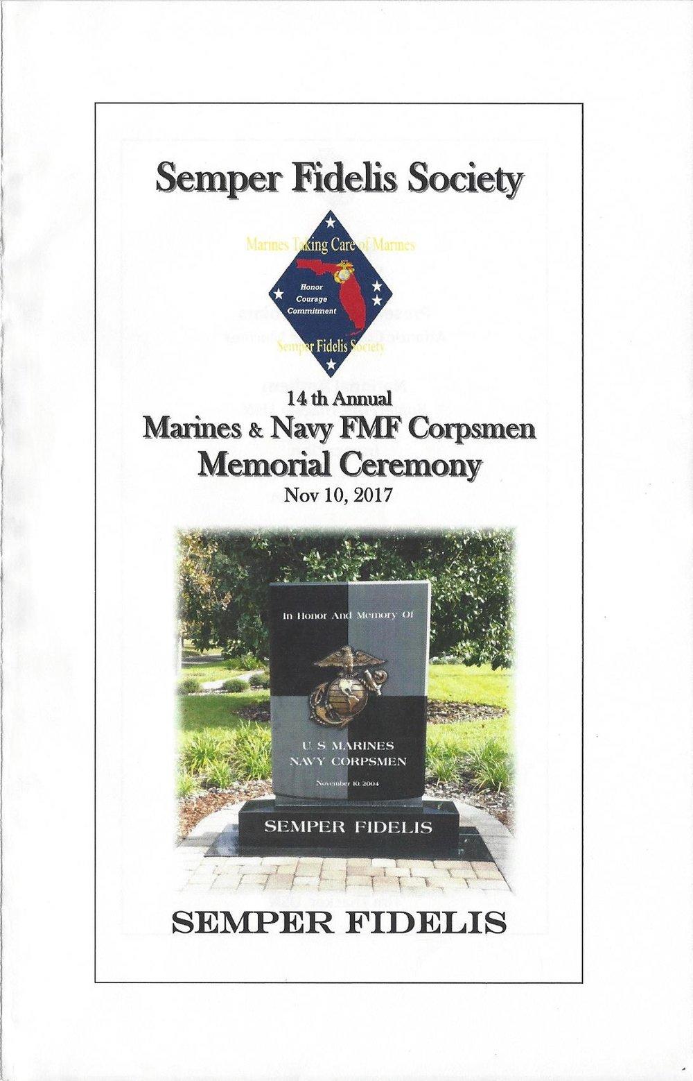 Marines Navy Corpsman Memorial Ceremony 11-10-2017 Page 0001.jpg