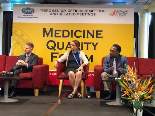 Panel at Medicine Quality Forum: APEC 2018