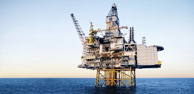 Secteur plate-forme pétrolière -