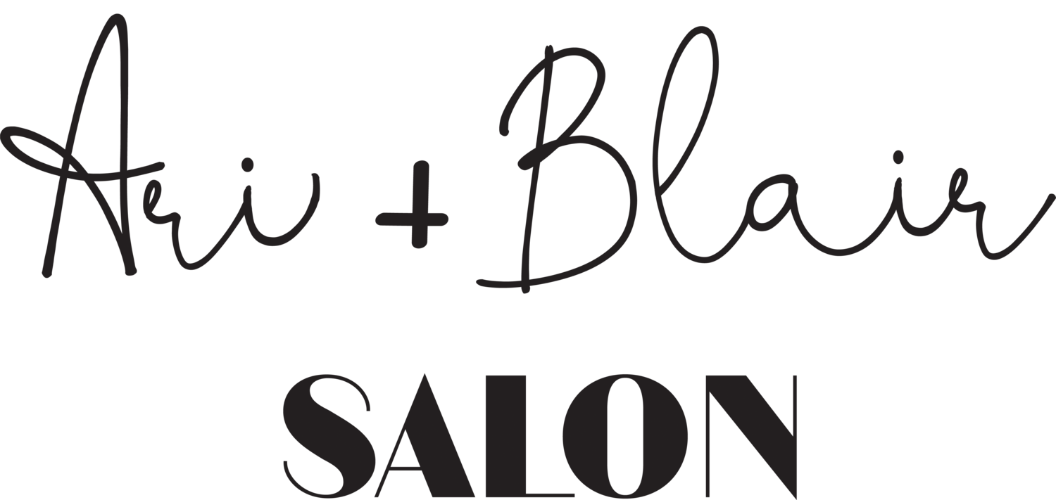 Ari + Blair Salon