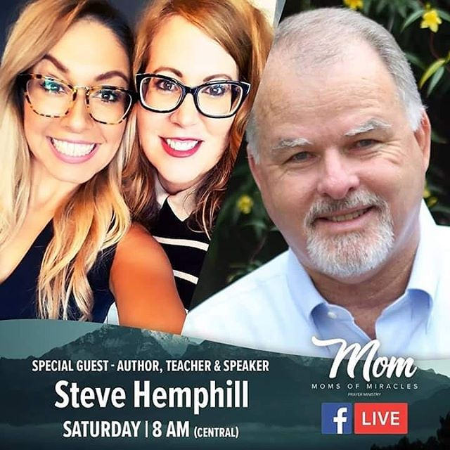 I'll be LIVE tomorrow with @moms_of_miracles Join me on their Facebook page and learn about spiritual warfare. See you there! facebook.com/momsofmiracles  #morning #devotional #verseoftheday #faith #stevehemphilltoday #blessedbythebest #inspiration #Jesus #ministry #stakes #Godspeople #TheGreatIAm #author #teacher #speaker #event #holyspirit #biblical #JesusIsLord #love #JesusChrist #spiritualwarfare #amen #scriptures #prayers #roots #wind #fear #armor #fullarmorofGod