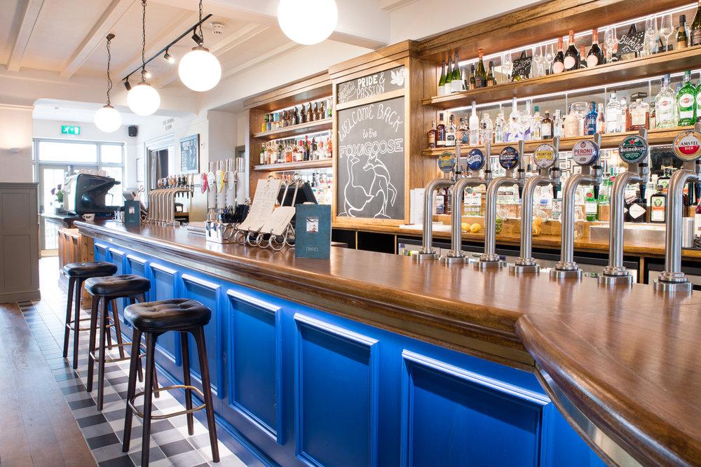 The Fox & Goose bar & restaurant, London