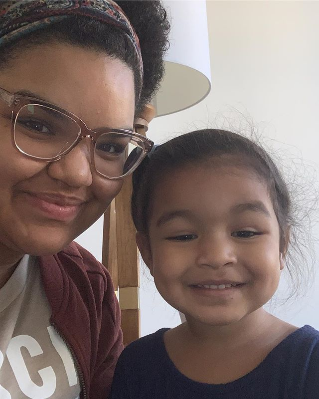 """God knows I desperately needed a break, but from the moment she drove off for """"staycation"""" at her Titi Nina's house I started to bawl 😭 I'm missing my baby 😫"""