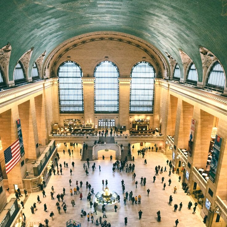Grand Central ( source: Pinterest)