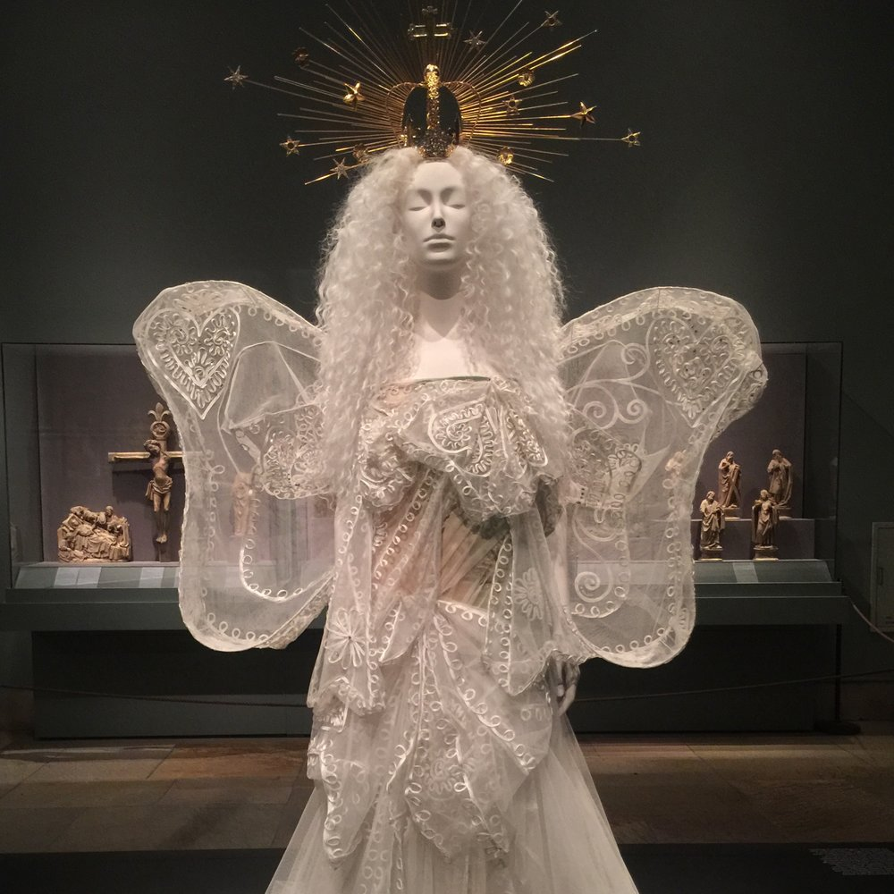 - Sight:  Heavenly Bodies at the Metropolitan Museum of Art. Go on a week day to avoid the crowds, and take in the city views at the Met Roof Garden alongside Huma Bhabha's otherworldly installation We Come In Peace.Sip: Dumbo HouseStory:  Please Do Not Touch