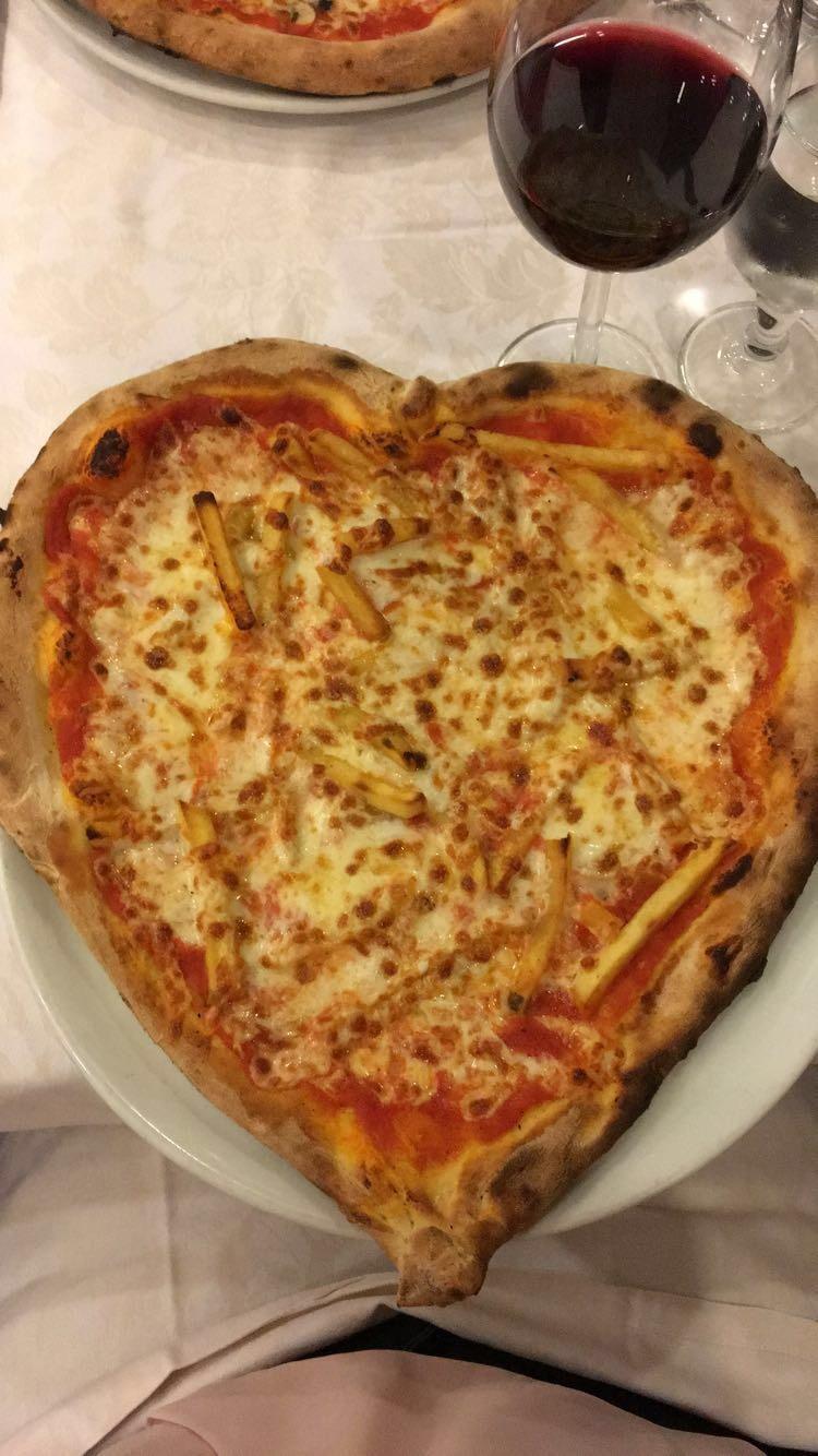 Fries on pizza…it happens!