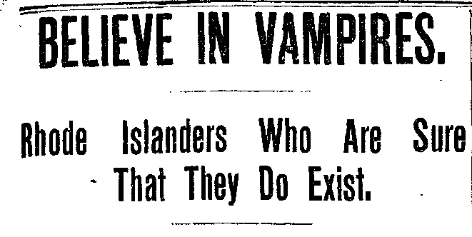 Episode 23: Vampires of New England -