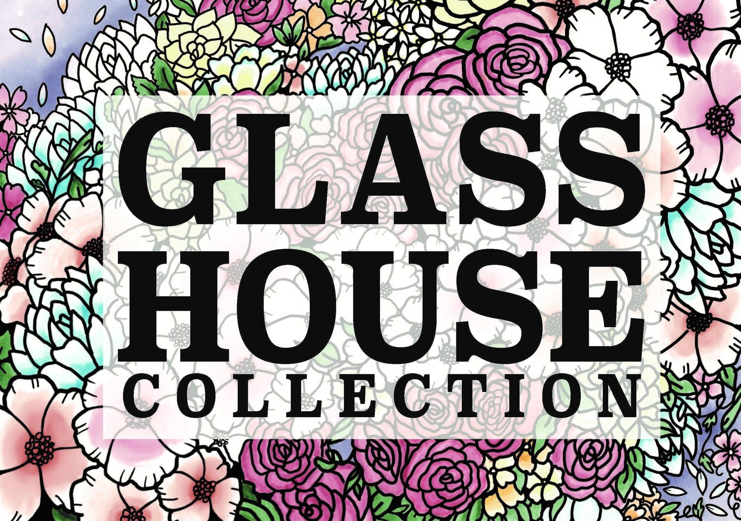 Glasshouse Collection Preserved Flower And Resin Art