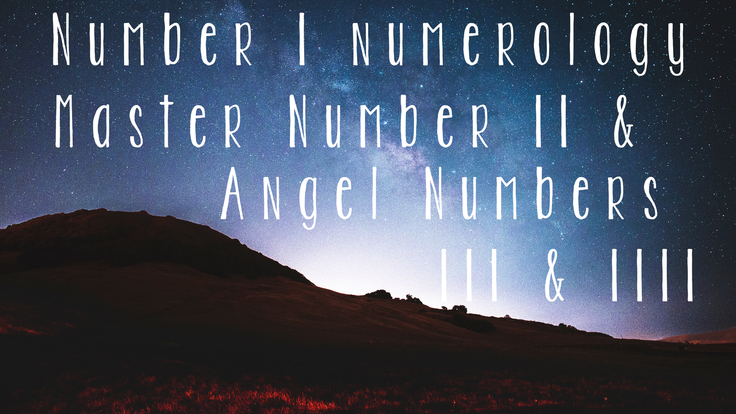 Numerology 101: Angel Number 111 & 1111 — Rose & Ritual