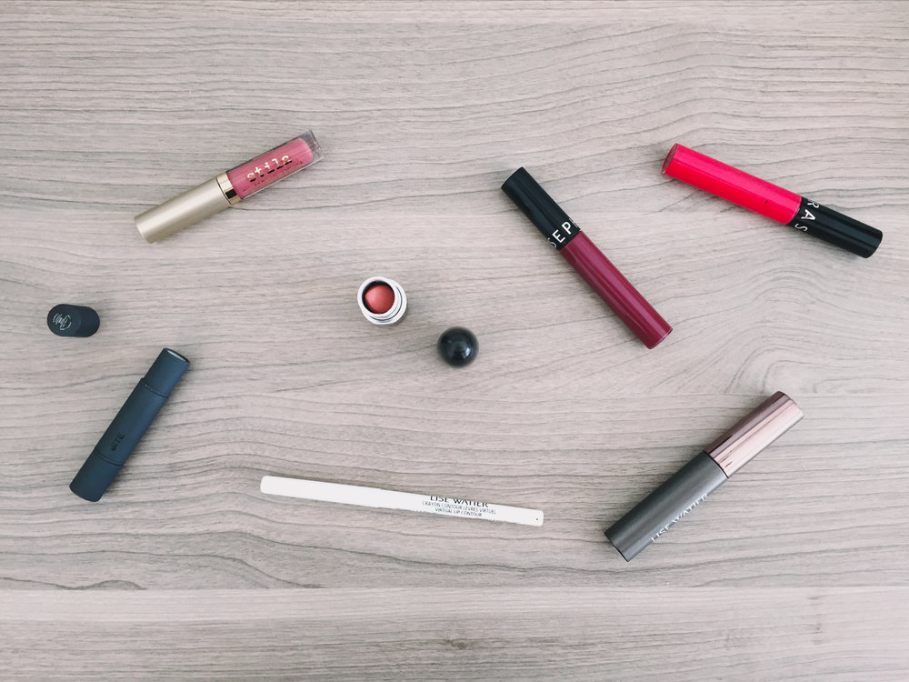 Travel lip products